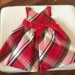 Janie and Jack Holiday Tartan dress